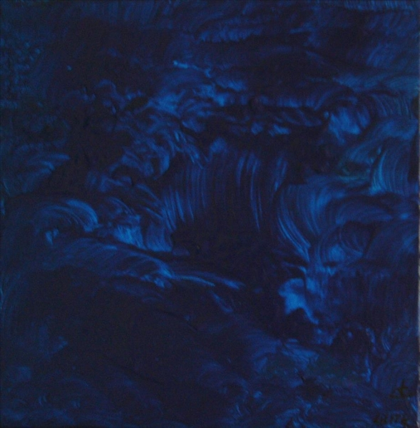 Impression bleue 2