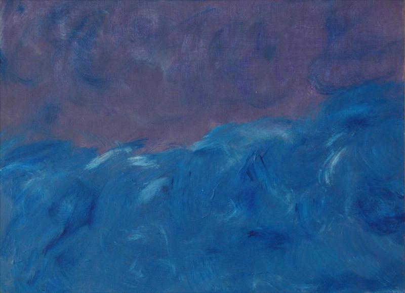 Colere de mer